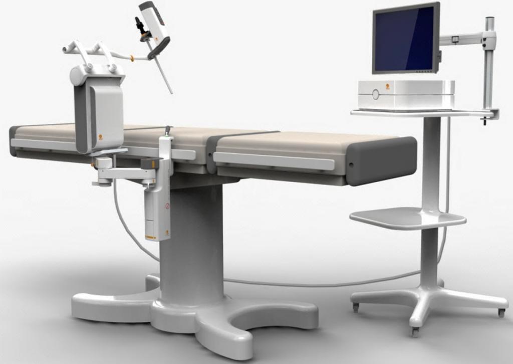 MST's AutoLap image-guided laparoscopic positioning system. Photo: courtesy