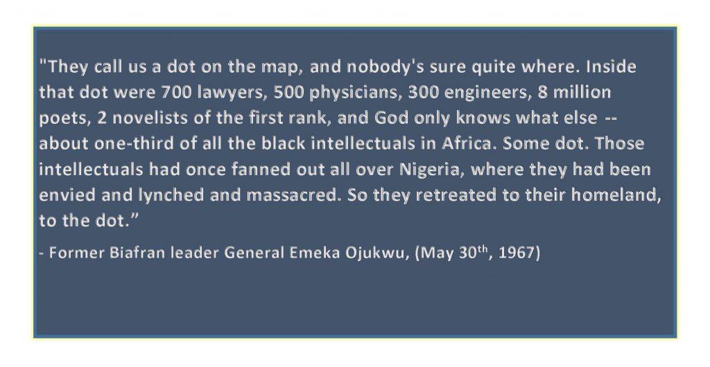 Biafra a dot - Ojukwu