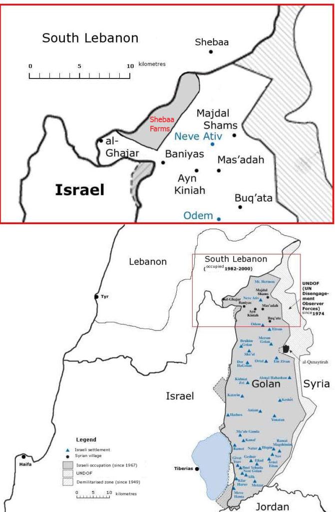 Har Dov in the Golan