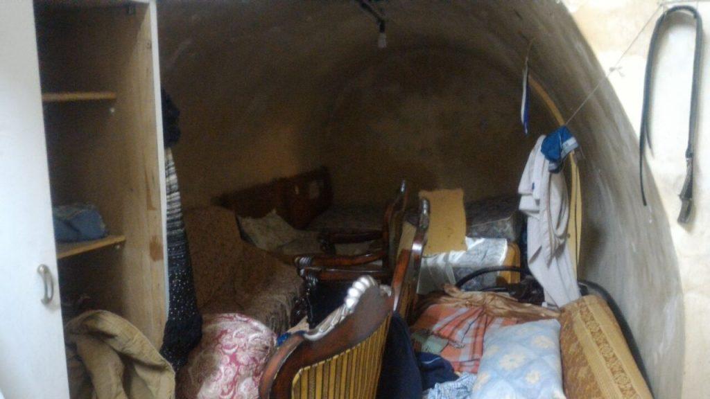 Interior of newest Jewish home on Al-Haleddiya St.