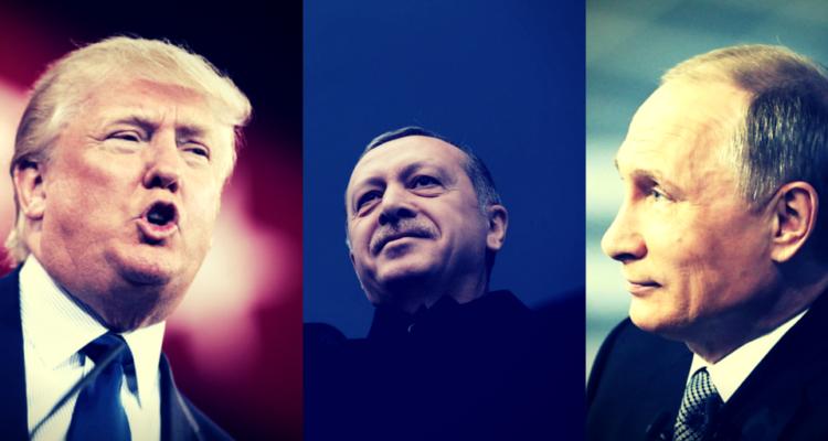 Trump, Erdogan, Putin
